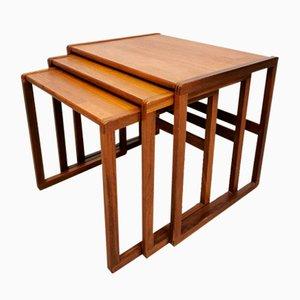 Tavolini ad incastro Mid-Century di G-Plan, anni '50