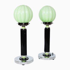 Lámparas de mesa Art Déco. Juego de 2