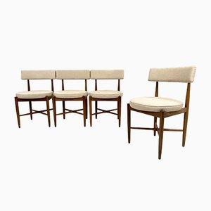 Teak Fresco Dining Chairs by IB Kofod Larsen for G-Plan, Set of 4