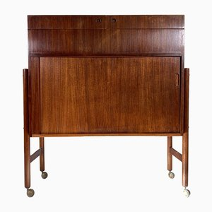 Danish Dry Bar Drinks Cabinet by Mogens Kold, 1960s