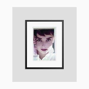 Audrey Hepburn Framed in Black by Bill Avery