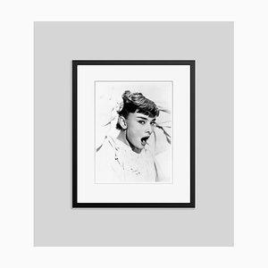 Bedtime Audrey Archival Pigment Print Framed in Black
