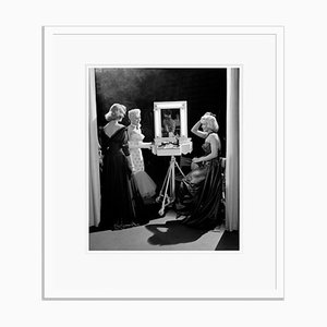 Blondes Have More Fun Silver Gelatin Resin Print Framed in White by Frank Worth