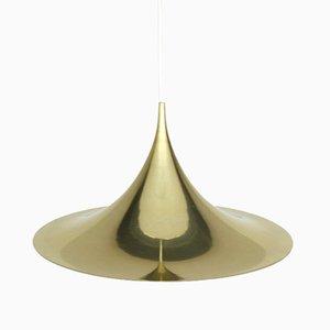Lámpara semi colgante Mid-Century de Claus Bonderup & Torsten Thorup para Fog &amp