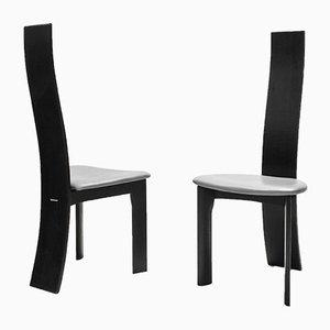 Iris Stühle von Bob & Dries Vanden Berghe für Van den Berghe Pauvers, 1980er, 6er Set