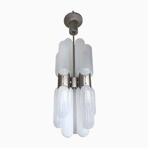 Lámpara de araña de Carlo Nason para Mazzega, años 70