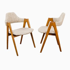 Teak Compass Chair by Kai Kristiansen for SVA Møbler, 1960s
