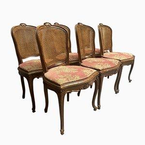 Sedie da pranzo antiche, set di 6