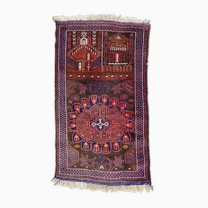 Vintage Baluch Afghan Rug, 1960s