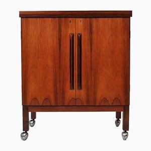 Rosewood Bar Table by Torbjørn Afdal for Mellemstrands Trevare Industri AS, 1950s