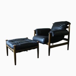 Mid-Century Amiral Lounge Chair by Eric Merthen for Ire Möbler