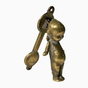 Brass Door Knocker, 19th-Century