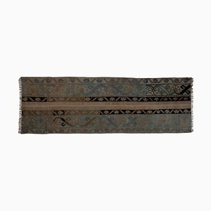 Small Distressed Turkish Runner Rug