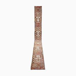 Vintage Turkish Handmade Kilim Runner Rug