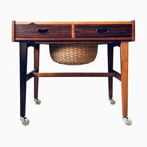 Mid-Century Rosewood Side Table from P. Westergaard Mobelfabrik
