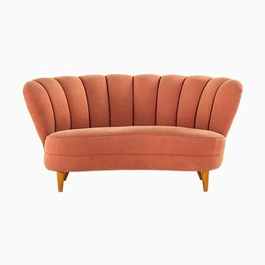 Swedish Sofa in the Style of Otto Schulz, 1940s