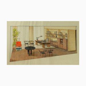 Original Interior von Renato Magri, 1987