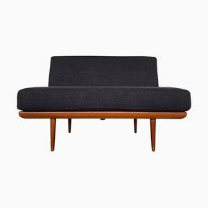 Sofá cama Minerva de Peter Hvidt & Orla Mølgaard-Nielsen para France & Son, años 60