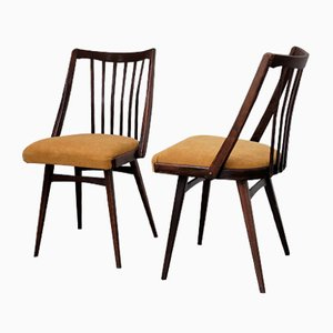 Dining Chairs by Radomir Hofman for TON, 1960s, Set of 4