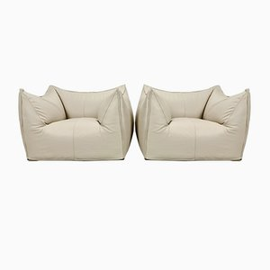 Le Bambole Chairs by Mario Bellini for B&B Italia, 1970s, Set of 2