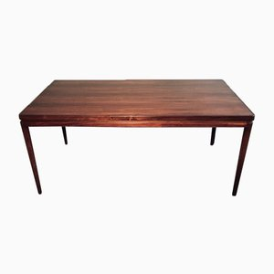 Tavolo da pranzo in palissandro di IB Kofod Larsen per Christian Linneberg, anni '60