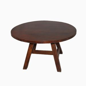 Round Italian Coffee Table, 1979