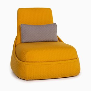 Yellow Fabric Hosu Armchair by Patricia Urquiola for Coalesse