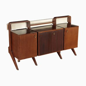 Veneer and Lacquer Cupboard, 1960s