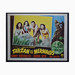 American Tarzan and the Mermaids Lobby Card, 1948