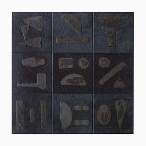 Bas-Relief in Ceramic by Bruno Capacci, 1950s