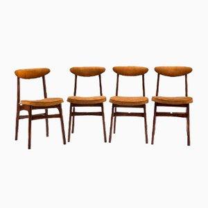 Chaises 200-190 par RT Hałas, 1960s, Set de 4