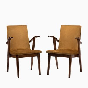300-123 Woman's Version Chairs by Mieczysław Puchała, 1950s, Set of 2