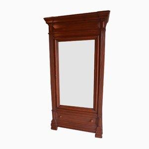 Antique Louis Philippe Mirror Cabinet