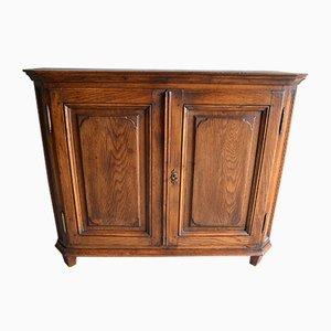 Antique Oak Milk Cabinet