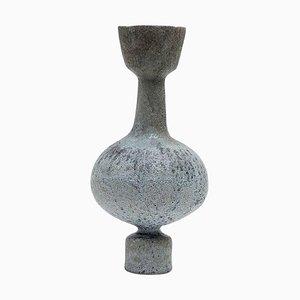 Glaze Lutróforo Stoneware Vase by Raquel Vidal and Pedro Paz