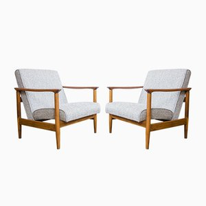 Model 142 Armchairs by Edmund Homa for GFM, 1960s, Set of 2