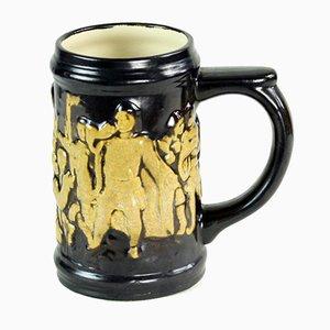 Vintage Ceramic Mug, Czechoslovakia, 1960s