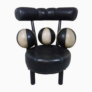 Silla noruega con esferas de Peter Opsvik para Stokke