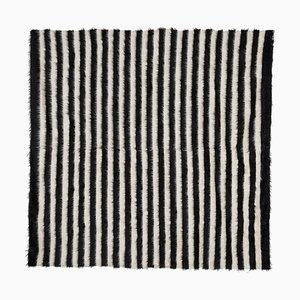 Turkish Siirt Blanket Kilim Rug, 1970s