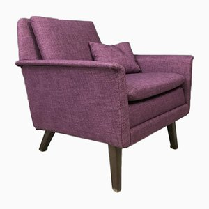 Mid-Century Danish Armchair by Folke Ohlsson for Fritz Hansen