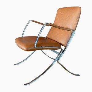 Mosquito Chair by Preben Fabricius & Jørgen Kastholm for Kill International, 1960s