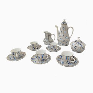 Coffee Set from Castro Sargadelos, 1950s, Set of 14