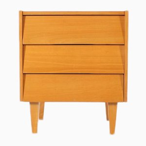 Bedside Cabinet with Drawers, 1960s