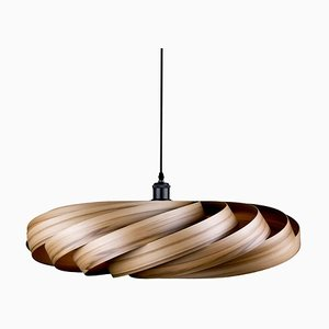 XL Satin-Walnut Andromeda Pendant Lamp by Manuel Döpper