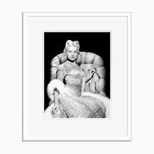 Beautiful Betty Archival Pigment Print Framed in White by Everett Collection