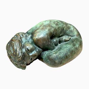 Große Skulptur aus Bronze von Alain Bonnefoit, 1970er