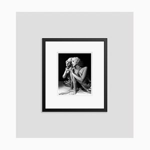 Betty Grable in a Fashion Shoot Archival Pigment Print Framed in Black by Everett Collection