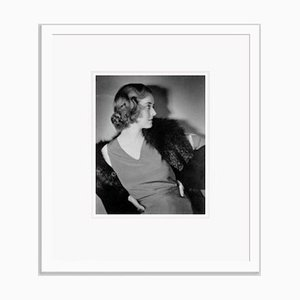 Bette Archival Pigment Print Framed in White by Alamy Archives
