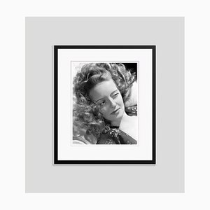 Bette Davis Archival Pigment Print Framed in Black by Alamy Archives