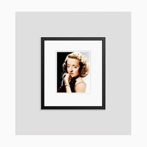 Wistful Bette Framed in Black by Everett Collection